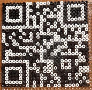 Bügelperlen QR-Code